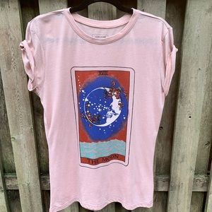 Graphic T-shirt Pale Pink